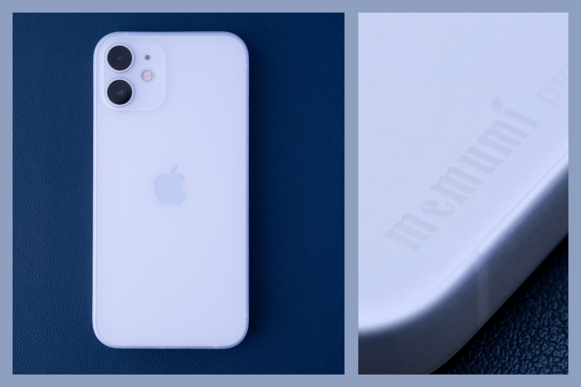 薄さ0.3mm。memumi iPhone 12 mini用ケース レビュー