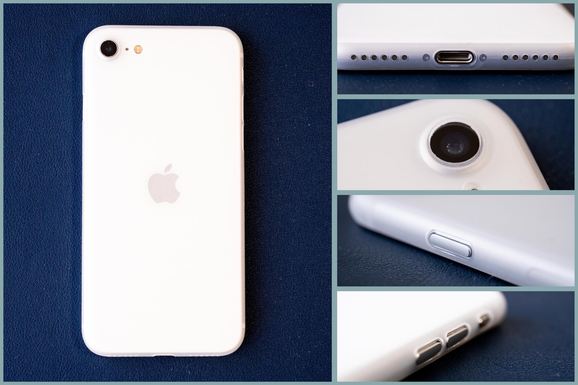 薄さとシンプルさ(あと林檎マーク)を求めるなら。iPhone SE(第2世代)用ケース CASEFINITE「FROST AIR」レビュー。