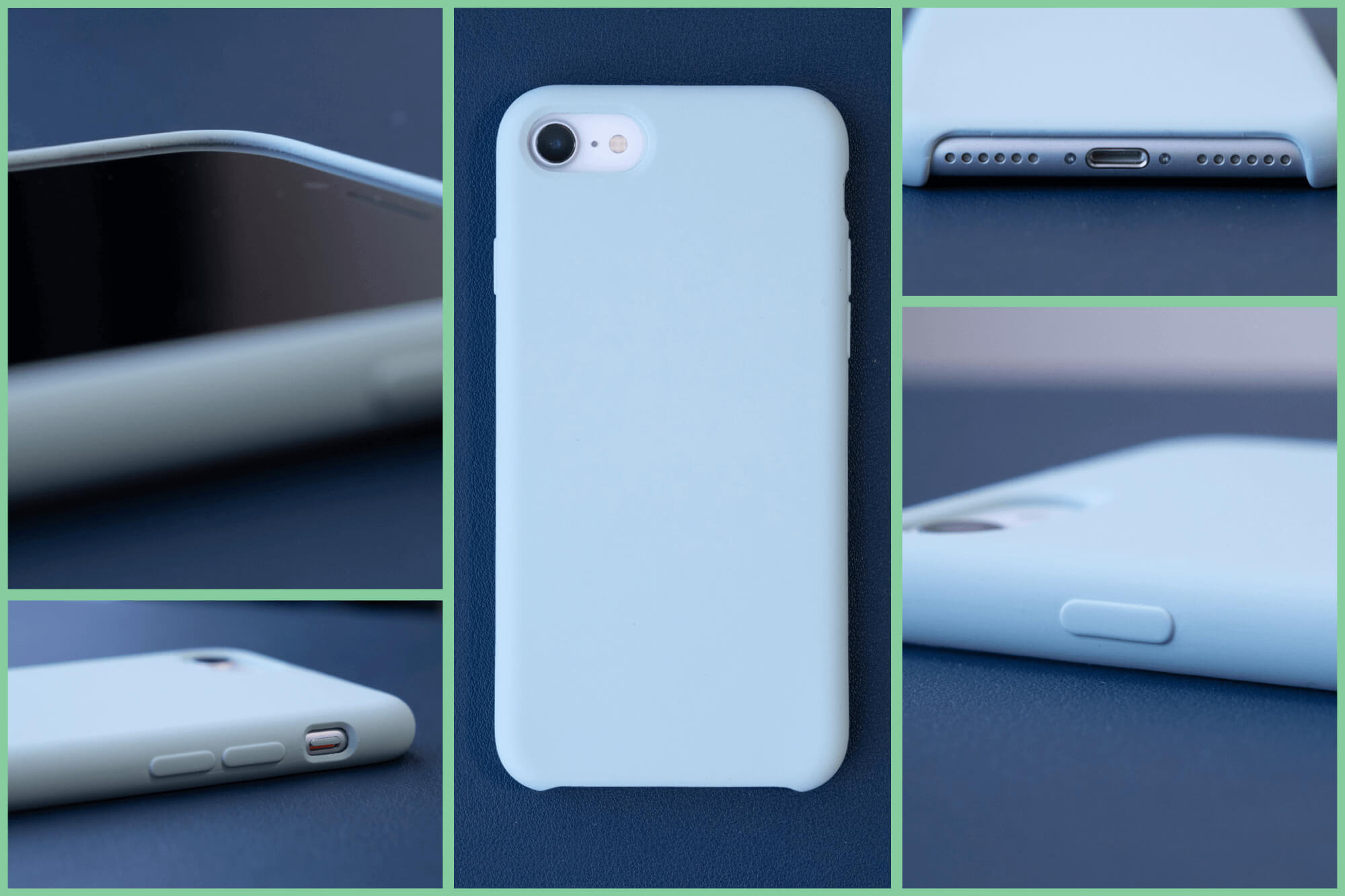 シンプルに色を求めるならコレかも。ORNARTO iPhone SE(第2世代)用ケースレビュー。